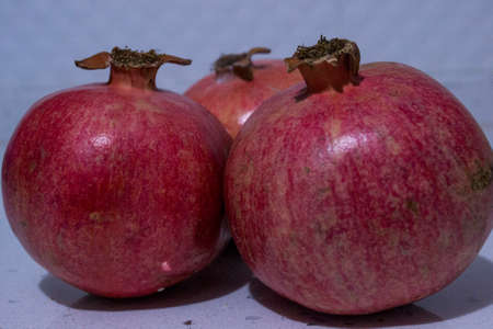 pomegranate is a very useful fruit in the winter season Stock Photo