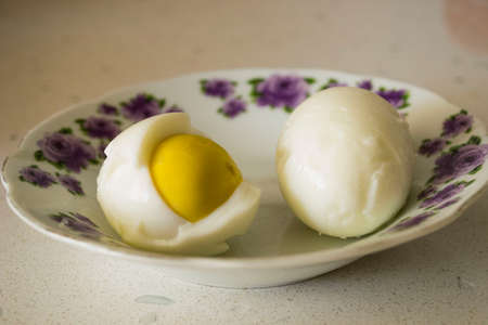 Breakfast is important, eggs are delicious at breakfast Stock Photo
