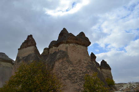 Cappadocia attracts tourists with its natural beauties