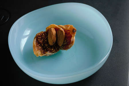 fig is useful for the intestines and gives strength to the body.