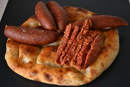 sausage is an indispensable food for breakfast.