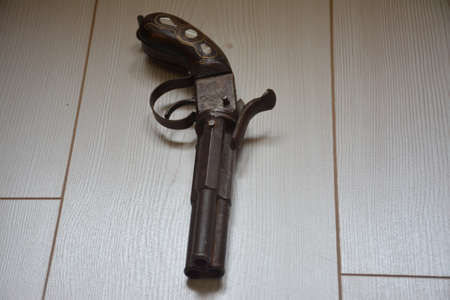 Antique weapons are a hobby that people like