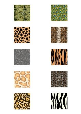 nature animal seamless skin pattern fabric