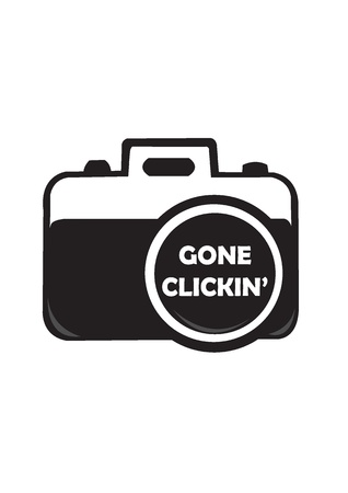 clicking: gone clicking concept with camera