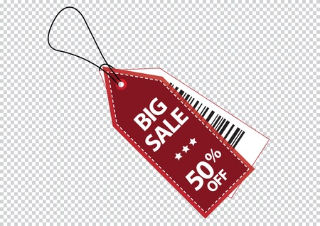 promotional sale labels set Vector