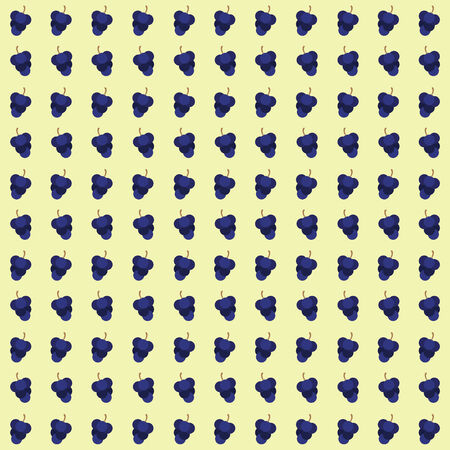 grape seamless pattern background. vector illustration.