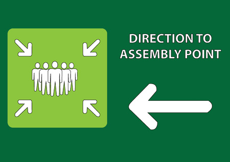 direction of assembly point illustration