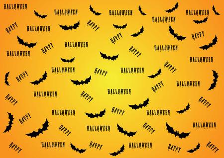 happy halloween. vector illustration Vector