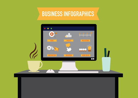 business Infographics. vector illustration