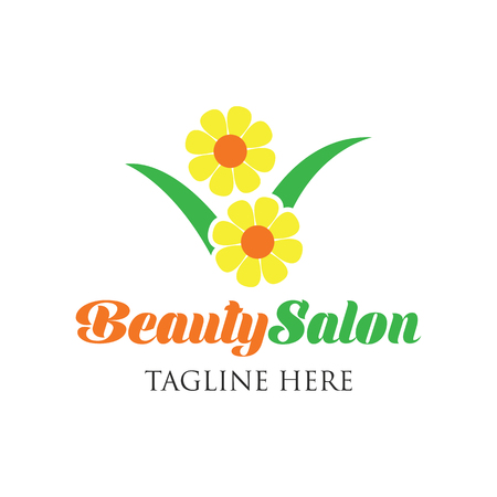 Beautician logo with text space for your slogan  tagline, vector illustration Illustration
