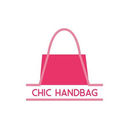 handbag logo on white background. vector illustration Logo