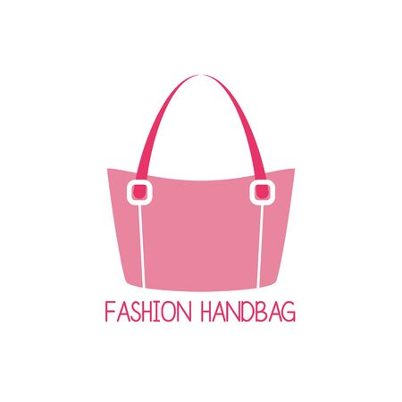handbag logo on white background. vector illustration