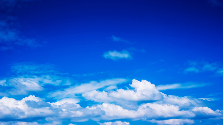 blue sky with Cloud dramatic of blue color 版權商用圖片