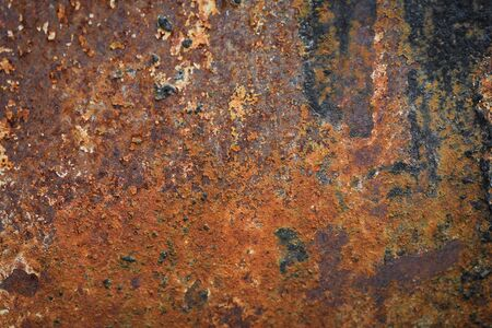 Dirty surface old rust wall / Grunge brushed metal texture abstract industrial background