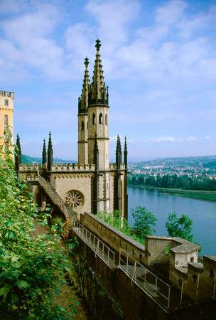Castle Stolzenfels, Koblenz, Germany photo
