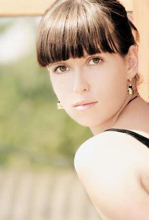 Young beautiful girl Stock Photo - 1133404