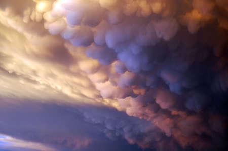 mean storm clouds Banco de Imagens