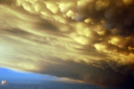 Sturmwolken Standard-Bild - 278094