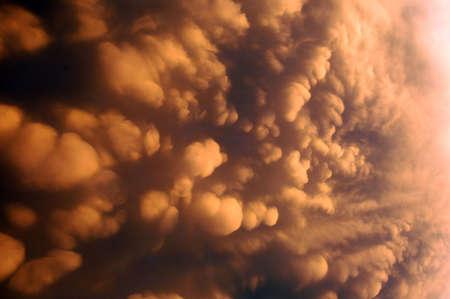 Sturm Wolke Standard-Bild - 278096