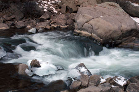 stream flow Banco de Imagens