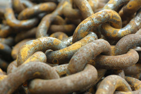 rusty: Rusty Chain Stock Photo