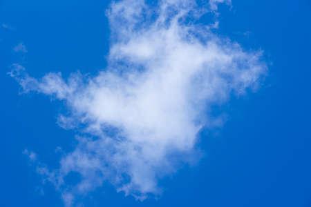 wispy: Cloudy Sky Texture Stock Photo