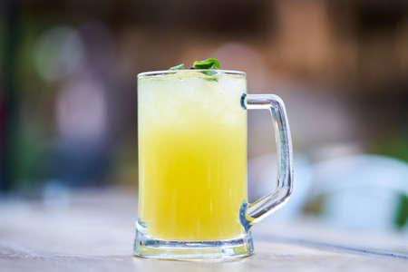 Lemonade on the table Zdjęcie Seryjne