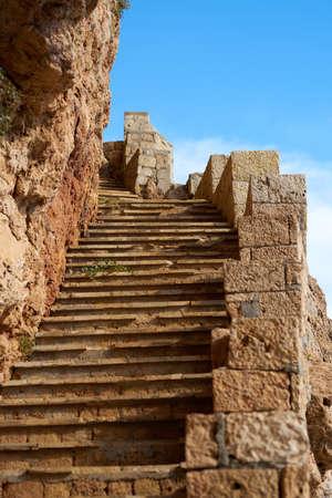 Stone stairs background Stockfoto - 122968577