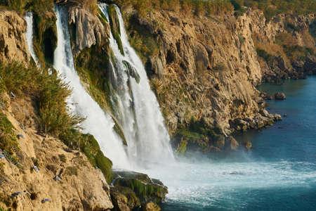 Waterfall in the nature Zdjęcie Seryjne