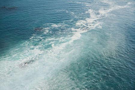 Sea and foam texture