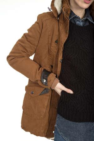 Fashion shoot clothes detail Imagens