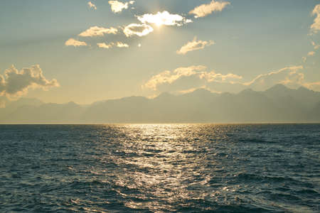 Beautiful Seascape Background Stok Fotoğraf - 126835383