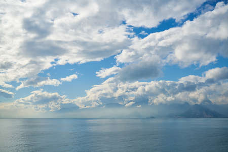 Amazing sea and sky Stok Fotoğraf