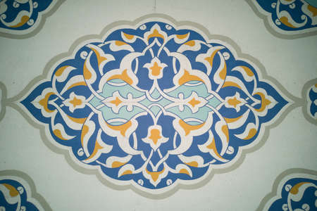Traditional motif background
