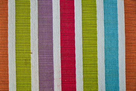 Colorful fabric close up and background