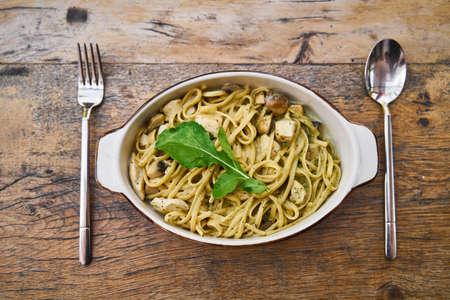 Delicious Italian Pasta on The Table