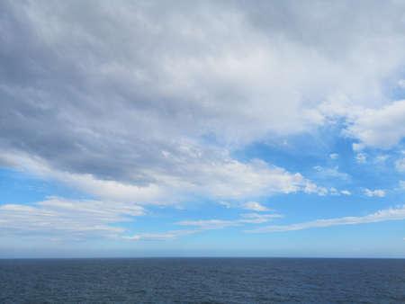 amazing seascape and beautiful sky