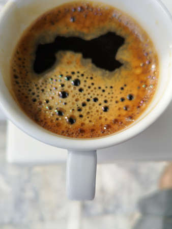 strong and delicious morning coffee Stok Fotoğraf