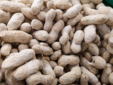 healthy peanuts at the market Stok Fotoğraf