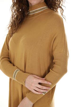 women sweatshirt shoot in studio