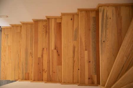 wooden stairs of a house Zdjęcie Seryjne