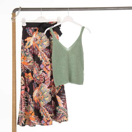 women clothes shoot in studio