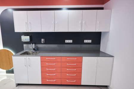 a new modern kitchen detail