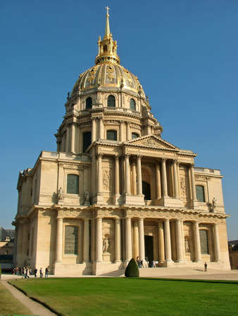 invalides: Cathedral of Invalides in Paris (Les Invalides)