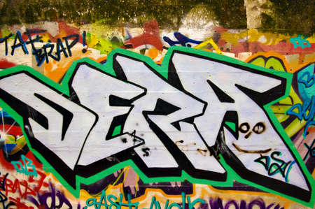 rapping: urban graffiti