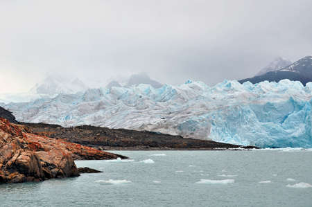 Glacier Perito Moreno in Argentina Patagonia photo