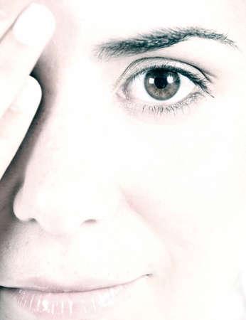 modelo femenino Foto de archivo - 9858551