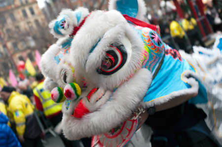 Celebrations of Chinese New Year 2012 The year of the Dragon Stock Photo - 12355068