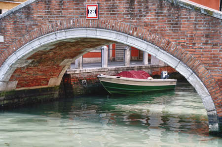 Typical views of Venice city and it s architecture in Italy photo