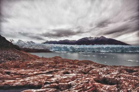 moreno glacier: Part of Glacier  Perito Moreno  in Argentine Patagonia